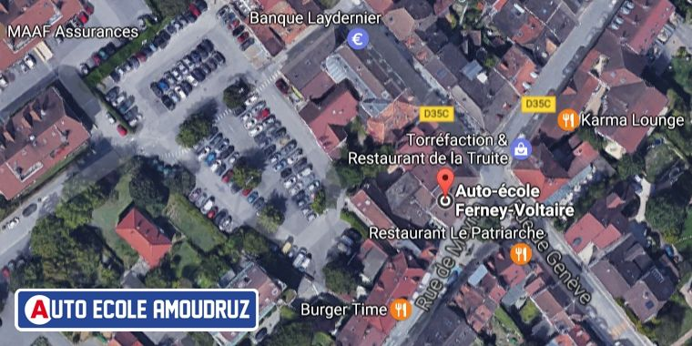 Auto-école Amoudruz à Ferney-Voltaire