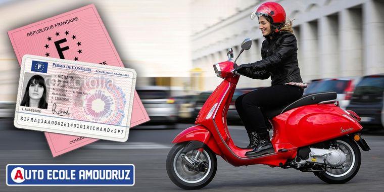 Permis de scooter 50cc